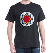 5x5-Roundel_of_Moldovan_Air_Force T-Shirt
