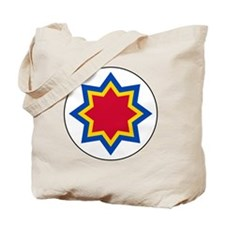 8x10-Roundel_of_Moldovan_Air_Force Tote Bag