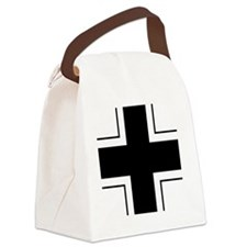 10x10-Balkenkreuz Canvas Lunch Bag