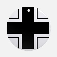 5x5-Balkenkreuz Round Ornament