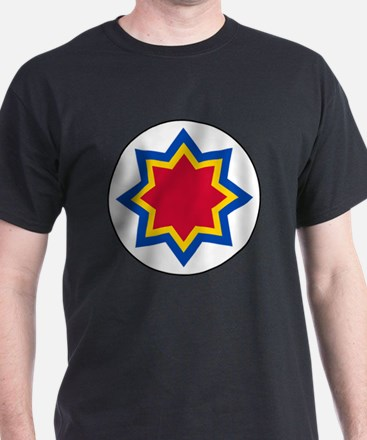 7x7-Roundel_of_Moldovan_Air_Force T-Shirt