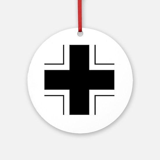 7x7-Balkenkreuz Round Ornament