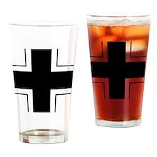 8x10-Balkenkreuz Drinking Glass