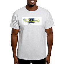 CURACAO Ash Grey T-Shirt