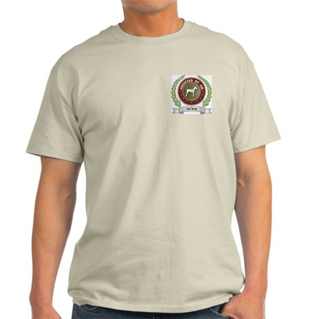 Terrier Adopted Ash Grey T-Shirt