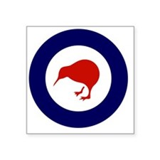 "10x10-Rnzaf_roundel Square Sticker 3"" x 3"""