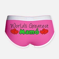 Worlds Greatest Mamo Women's Boy Brief