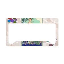 6 JUNE BONNOTTE - SIRENE License Plate Holder