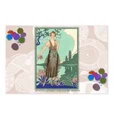 6 JUNE BONNOTTE - SIRENE Postcards (Package of 8)