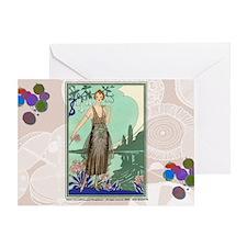 6 JUNE BONNOTTE - SIRENE Greeting Card