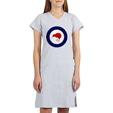 8x10-Rnzaf_roundel Women's Nightshirt