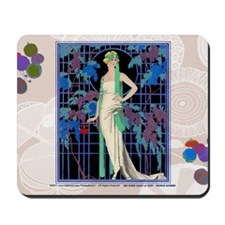 3 MARCH BARBIER DES ROSES-NUIT Mousepad