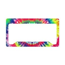 Spiral Peace Laptop License Plate Holder