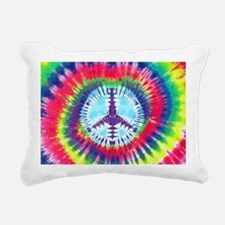 Spiral Peace Laptop Rectangular Canvas Pillow