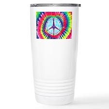 Spiral Peace Laptop Travel Coffee Mug