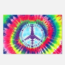 Spiral Peace Laptop Postcards (Package of 8)