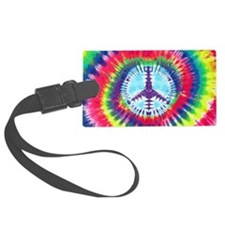 Spiral Peace Laptop Luggage Tag