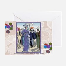 10 OCT BRISSAUD HOW BEAUT AT SEA Greeting Card
