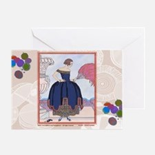 2 FEB BARBIER PAVANE Greeting Card