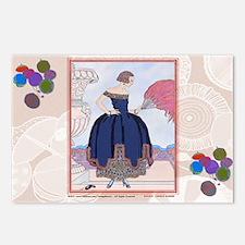 2 FEB BARBIER PAVANE Postcards (Package of 8)