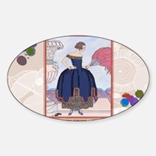 2 FEB BARBIER PAVANE Sticker (Oval)
