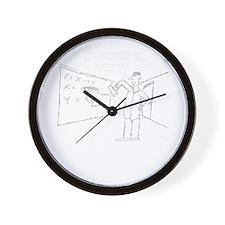 Topology Joke (TS-W) Wall Clock