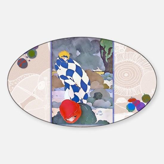 11 NOV LEPAPE STORM Sticker (Oval)