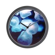 Dance of the Jellyfish Wall Clock