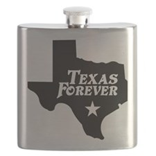 state-texas-forever-star-black Flask