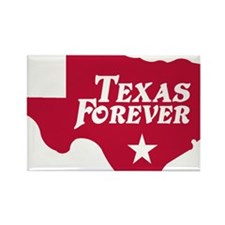 state-texas-forever-star-red-cuto Rectangle Magnet