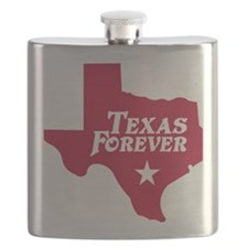 state-texas-forever-star-red-cutout Flask