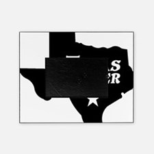 state-texas-forever-star-black-cutou Picture Frame