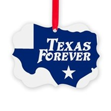state-texas-forever-star-blue-cut Ornament