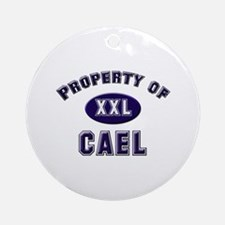Property of cael Ornament (Round)