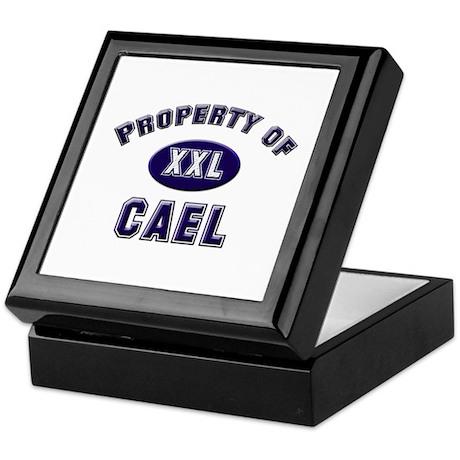 Property of cael Keepsake Box