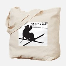 Ski Jackson Hole Tote Bag