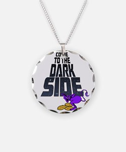 Come To The Dark Side-drk Necklace