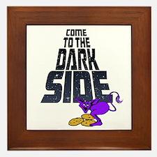 Come To The Dark Side-drk Framed Tile