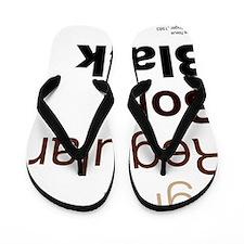 HelveticaNeue Flip Flops