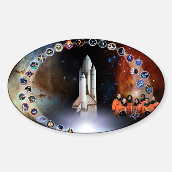 L Columbia Tribute Sticker (Oval)
