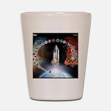 L Columbia Tribute Shot Glass