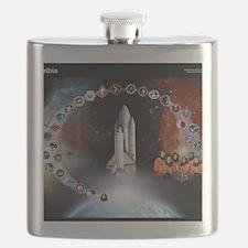 L Columbia Tribute Flask