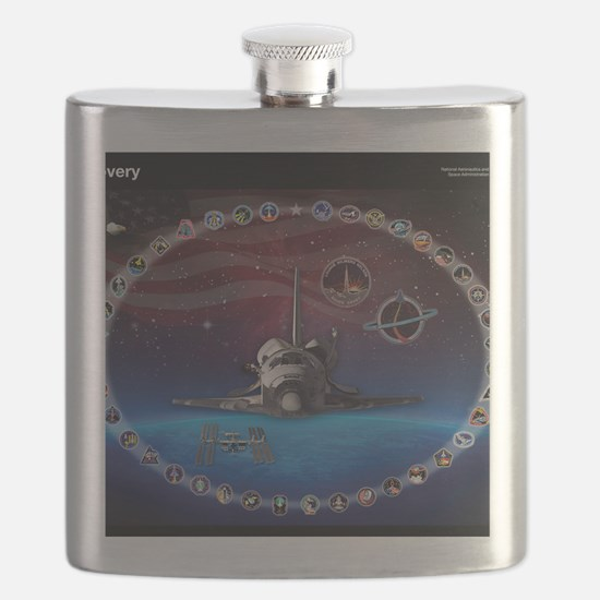 L Discovery Tribute Flask
