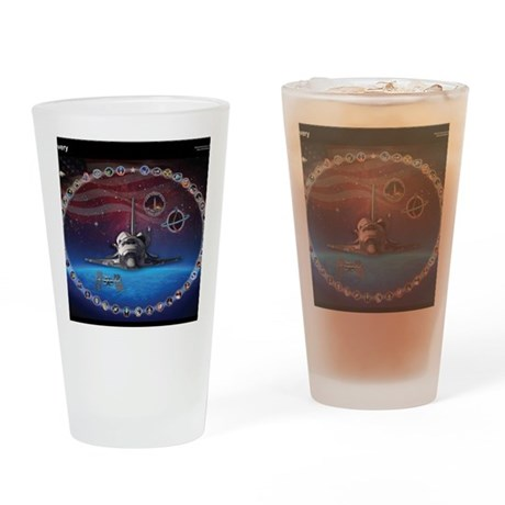 L Discovery Tribute Drinking Glass
