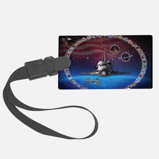 L Discovery Tribute Luggage Tag