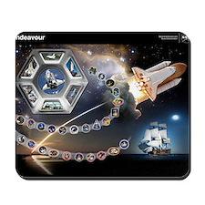 L Endeavour Tribute Mousepad