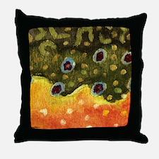 brook_skin_mouse Throw Pillow