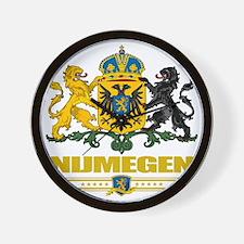 Nijmegen (Flag 10) Wall Clock