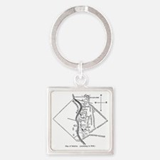 babylonplan(pck177) Square Keychain