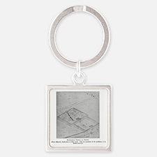 babyloniantempleatnippur(btsfd032) Square Keychain